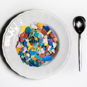 "Auke-Florian Hiemstra, 2017 ""Plastic  soep"""
