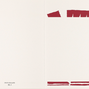 """Hans Landsaat, 1983, """"Inuit Stilllife. IIII,3"""", zeefdruk"""
