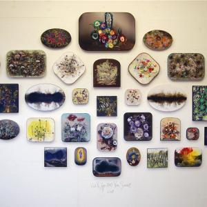 Van Rijn en Van Soest, Wall with over-drawn photo's,  2018