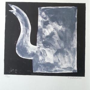 Klaas Gubbels, 1993, z.t., litho,  65 x 51,5 cm, opl 28/40