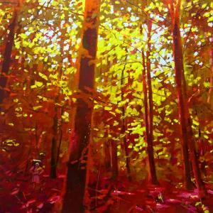 "Jerry Veldhuizen, 2018, ""I  trekked a forest unimaginably luxuriant"""