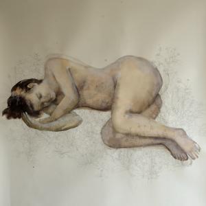 Miriam Pertegato, 2018, z.t., 140 x 130 cm